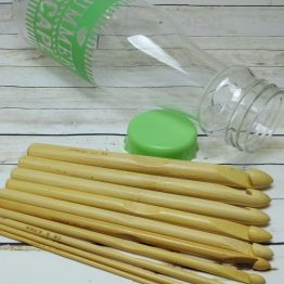 botella ganchillos bambu2